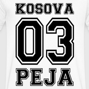 Kosova Peja - Men's Organic V-Neck T-Shirt by Stanley & Stella
