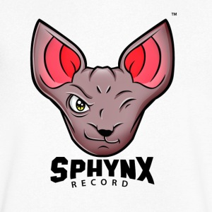 Sphynx Record - T-shirt Homme col V