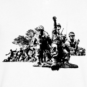 Korean War - Men's V-Neck T-Shirt