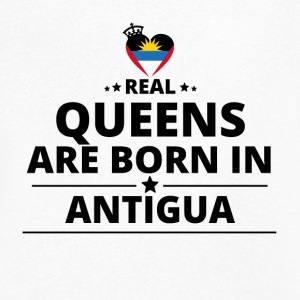 DON DE QUEENS AMOUR BARBUDA ANTIGUA - T-shirt bio col en V Stanley & Stella Homme