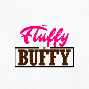 From Fluffy to Buffy - Men's Organic V-Neck T-Shirt by Stanley & Stella