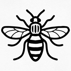 Manchester Bee - T-shirt Homme col V