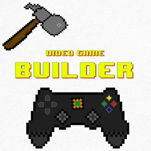 Video Game Builder! - Men's Organic V-Neck T-Shirt by Stanley & Stella