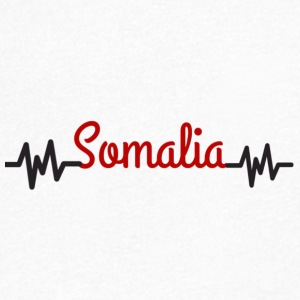 somalia - Men's V-Neck T-Shirt