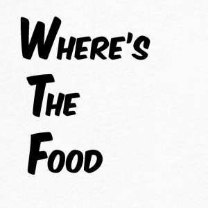 Where's the food - Men's V-Neck T-Shirt