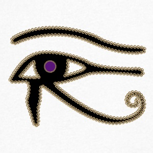 Eye of Horus - Men's Organic V-Neck T-Shirt by Stanley & Stella