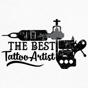 Tattoo / Tattoo: The Best Tattoo Artist - Men's Organic V-Neck T-Shirt by Stanley & Stella