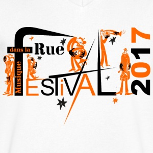 Festival in the street 2017 - Men's V-Neck T-Shirt