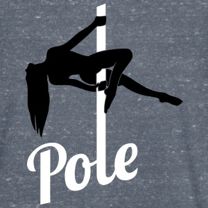 pole Dancer - T-skjorte med V-utsnitt for menn