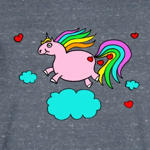 Thick unicorn - Men's Organic V-Neck T-Shirt by Stanley & Stella