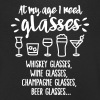 At my age I need glasses... - Men's Organic V-Neck T-Shirt by Stanley & Stella