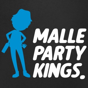 Malle party Kings - Herre T-shirt med V-udskæring