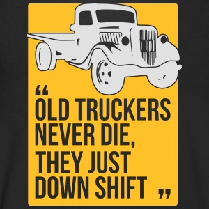 Old truckers - Men's Organic V-Neck T-Shirt by Stanley & Stella