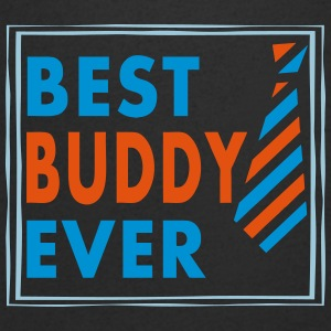 BEST BUDDY EVER! - Men's Organic V-Neck T-Shirt by Stanley & Stella