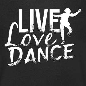 I love dancing - Men's Organic V-Neck T-Shirt by Stanley & Stella