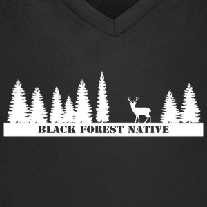 Black Forest Native - Men's V-Neck T-Shirt