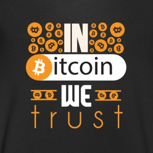 In Bitcoin We Trust - Men's V-Neck T-Shirt