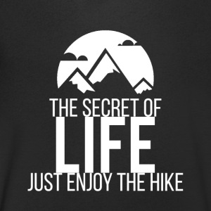 Enjoy The Hike - T-skjorte med V-utsnitt for menn