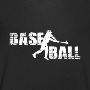 baseball - Men's Organic V-Neck T-Shirt by Stanley & Stella