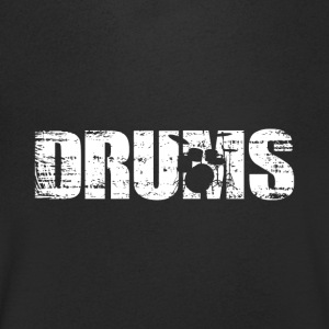 Drums - Drums - Men's Organic V-Neck T-Shirt by Stanley & Stella
