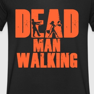 Dead Man Walking Men's T-Shirt - Men's V-Neck T-Shirt