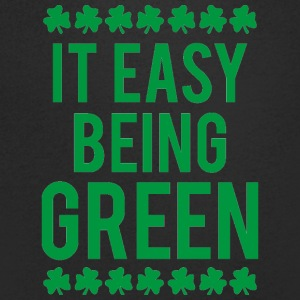 Ireland / St. Patrick's Day: It's Easy Being Green - Men's V-Neck T-Shirt