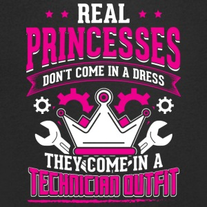 technicien REAL PRINCESSES - T-shirt Homme col V