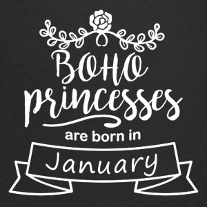 Boho Princesses are born in January - Men's Organic V-Neck T-Shirt by Stanley & Stella