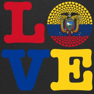 ECUADOR HEART - Men's V-Neck T-Shirt