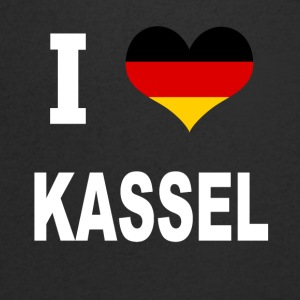 I Love Germany KASSEL - T-skjorte med V-utsnitt for menn