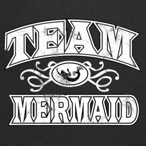 Fairy Tales: Team Mermaid - Mermaid - Men's Organic V-Neck T-Shirt by Stanley & Stella