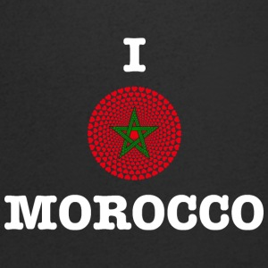 Morocco Morocco المغرب I LOVE MANDALA - Men's Organic V-Neck T-Shirt by Stanley & Stella