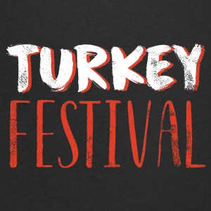 Thanksgiving / Erntedankfest: Turkey Festival - Men's V-Neck T-Shirt