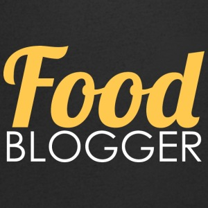 Food Blogger - T-shirt med v-ringning herr