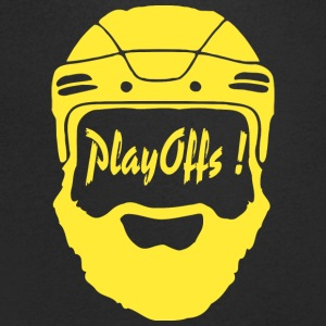 Playoffs ! Yellow - T-shirt bio col en V Stanley & Stella Homme