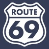 Route 69 T-Shirts - Men's Organic V-Neck T-Shirt by Stanley & Stella