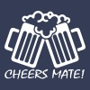 Cheers Mate! - Men's Organic V-Neck T-Shirt by Stanley & Stella