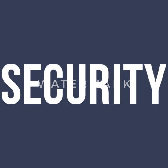 La sécurité à capuche videur police événement personnel Uniforme Garde Sweat
