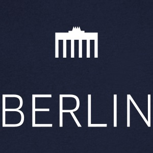 Berlin 01 - Men's V-Neck T-Shirt