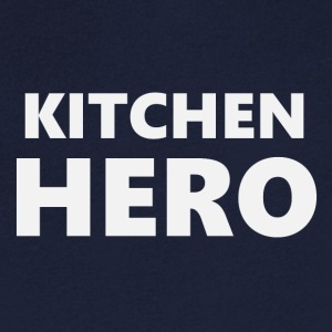 2206 Kitchen Hero - T-skjorte med V-utsnitt for menn