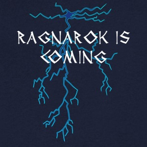Vikings: Ragnarok Is Coming - T-shirt bio col en V Stanley & Stella Homme