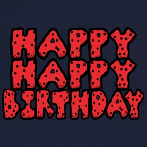 Happy birthday - T-shirt bio col en V Stanley & Stella Homme