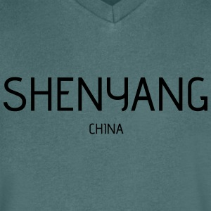 Shenyang - Men's V-Neck T-Shirt