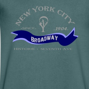 "New York City ""Broadway"" - T-shirt Homme col V"