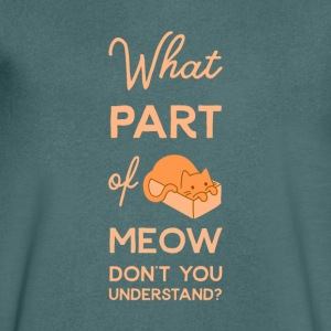 Understanding Cat Language - Men's V-Neck T-Shirt