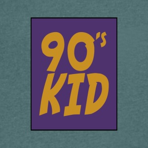 90s kid - Men's Organic V-Neck T-Shirt by Stanley & Stella