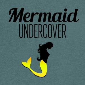 Mermaid Undercover - Men's V-Neck T-Shirt