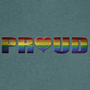 proud to be gay - Men's V-Neck T-Shirt