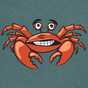 Crab - Men's Organic V-Neck T-Shirt by Stanley & Stella