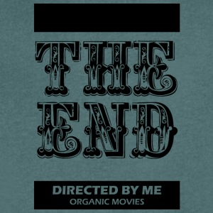 Theendmovie blak - Men's Organic V-Neck T-Shirt by Stanley & Stella